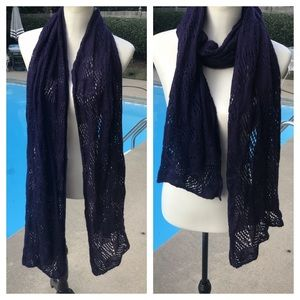 LOVELY CHICOS ADDITIONS purple scarf